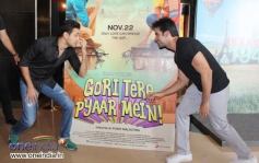 Imran Khan and Punit Malhotra during the first look launch of Gori Tere Pyaar Mein
