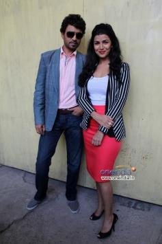Irrfan Khan and Nimrat Kaur promotes their film The Lunchbox