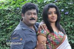 Jaggesh and Poornima in Kannada Movie Agraja