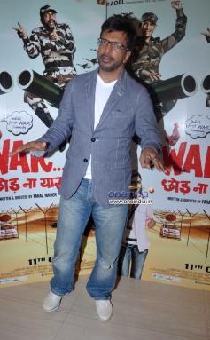 Javed Jaffrey at War Chhod Na Yaar film press conference