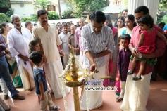 Jayaraj Warrier, Jayasurya at Punyalan Agarbathis Film Pooja