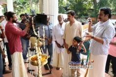 Jayasurya, Jayaraj Warrier at Punyalan Agarbathis Film Pooja