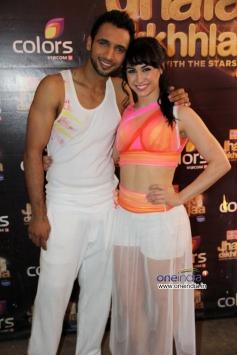 Jhalak Dikhhla Jaa 6 contestant Lauren Gottlieb with her partner