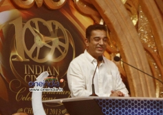 Kamal Hassan at 100 Years of Indian Cinema Celebration in Chennai.