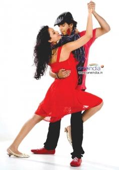 Nikii and Chethan at Kannada Film Mandhahasa