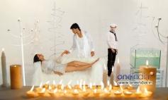 Nikii, Chethan and Rakesh at Kannada Film Mandhahasa