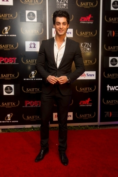 Karan Wahi at the red carpet of SAIFTA