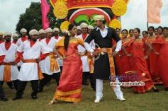 Karthika Nair and Darshan in Film Brindavana