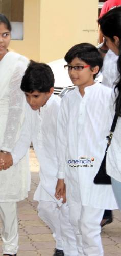 Madhuri Dixit's son Arin and Raayan
