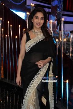 Madhuri Dixit during 24 India tv show promotion on Jhalak Dikhhla Jaa 6 sets