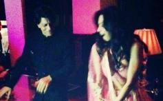 Malaika Arora Khan and Shahrukh Khan in Eid bash