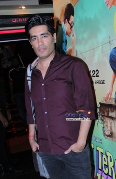 Manish Malhotra during the first look launch of Gori Tere Pyaar Mein