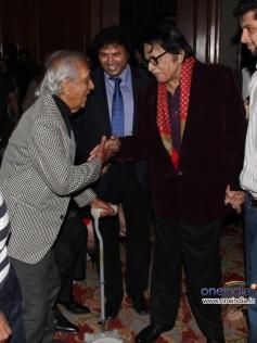 Manoj Kumar arrive at Jagran Film Festival 2013 Closing Ceremony