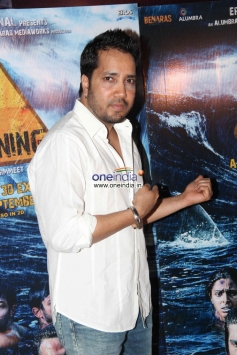 Mika Singh at special screening of Warning