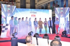 Model present at Reliance Trends 'INTRIBE' brand launch