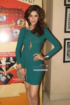 Model at Veena Malik's Super Model film premiere