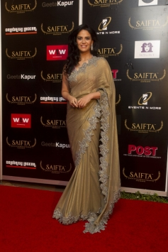 Mona Singh at the red carpet of SAIFTA