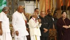 MS Viswanathan at 100 Years of Indian Cinema Celebration Closing Ceremony Photos