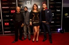 Mukesh Bhatt, Vishesh Bhatt, Udita Goswami and Mohit Suri at the red carpet of SAIFTA