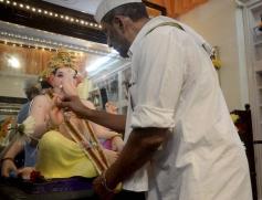 Nana Patekar celebrates Ganesh festival