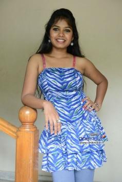Naveena Jackson at Daughter of Varma Movie Press Meet