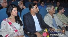Nimrat Kaur, Akshay Kumar and Sudhir Mishra at Inauguration of 4th Jagran Film Festival