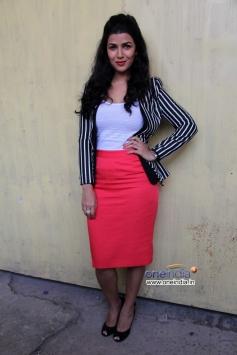 Nimrat Kaur during her film The Lunchbox promotion