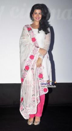 Nimrat Kaur during the inauguration of 4th Jagran Film Festival