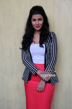 Nimrat Kaur poses during her film The Lunchbox promotion