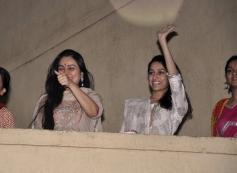 Padmini Kolhapure and Shraddha Kapoor