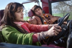 Pallavi Sharda and Ranbir Kapoor still from Besharam