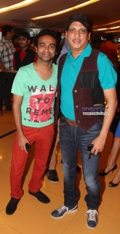 Pitobash and Sunil Agnihotri at premiere of film Raqt - Ek Rishta