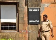 Police Guard at Shahrukh Khan Mannat
