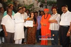 Pooja Gandhi, Sachiva H. Anjineya, Director Aditya Chikkanna