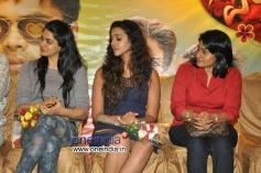 Sakshi Chowdhary, Anu Priya and Sirisha Lagadapati at Potugadu Success Meet