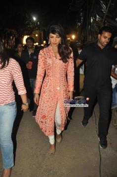 Priyanka Chopra arrive at Bade Achhe Lagte Hain show on the sets