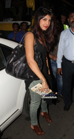 Priyanka Chopra arrives Mumbai International Airport