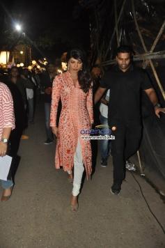 Priyanka Chopra at Bade Achhe Lagte Hain show on the sets