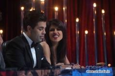 Priyanka Chopra with Karan Johar at on the sets of Jhalak Dikhhla Jaa 6 Super Finale