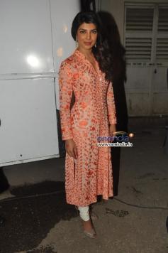 Priyanka Chopra at Zanjeer film promotion on Bade Achhe Lagte Hain sets
