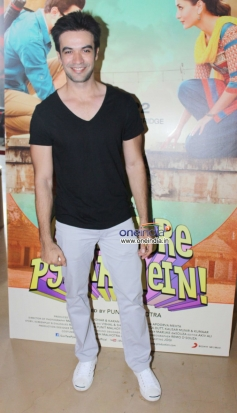 Punit Malhotra during the first look launch of Gori Tere Pyaar Mein