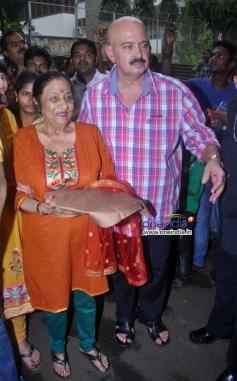 Rakesh Roshan celebrates Ganesh Chaturthi 2013