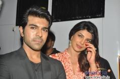 Ram Charan Teja and Priyanka Chopra on Bade Achhe Lagte Hain sets