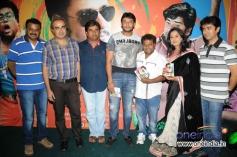 Rangayana Raghu, Darshan, Sadhu Kokila, Ashwini at Film Chaddi Dosth Press Meet