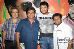 Rangayana Raghu, Darshan, Sadhu Kokila at Film Chaddi Dosth Press Meet
