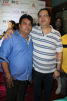 Ravi Ahlawat With Navin Batra at Veena Malik's Super Model film premiere
