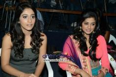 Regina Cassandra and Priyamani at Chandi Platinum Disc Function