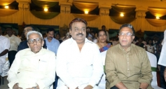 RM Veerappan, Vijayakanth, Naasar at TG Thyagarajan son Senthil Dhasha Wedding Reception