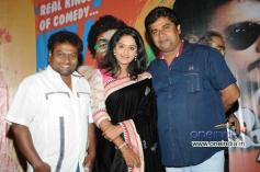 Sadhu Kokila, Ashwini, Rangayana Raghu at Kannada Film Chaddi Dosth Press Meet