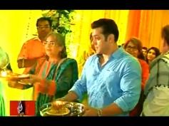Salman Khan Performing Pooja
